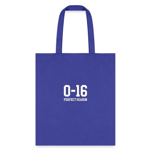 Detroit Lions 0 16 Perfect Season - Tote Bag