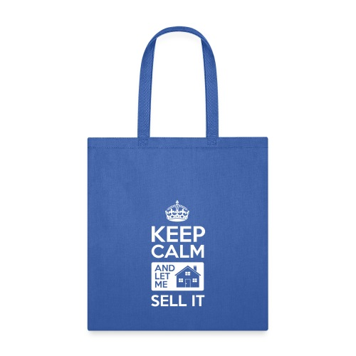 Keep Calm Let Me Sell It - Tote Bag