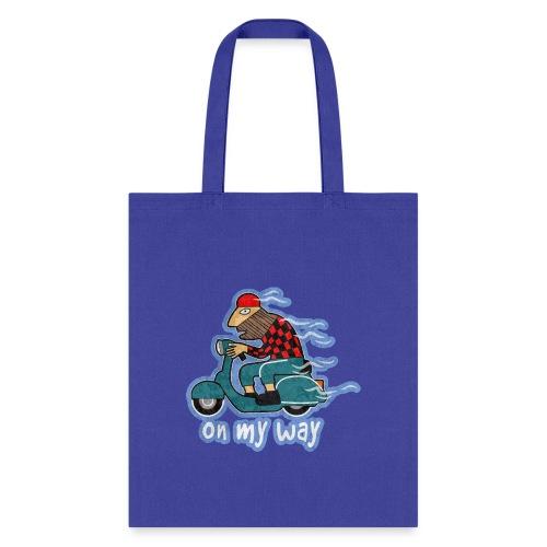 On my way. - Tote Bag