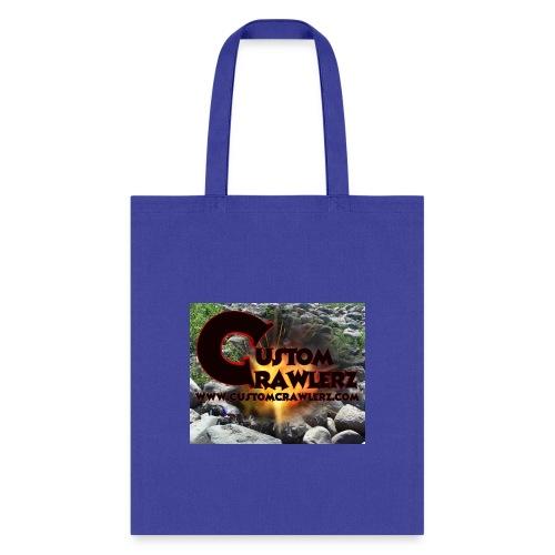 Custom Crawlerz Logo Explosive Rocks tight 2018 - Tote Bag