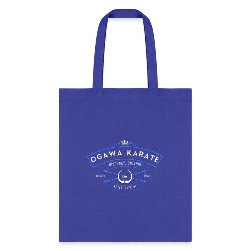 Vintage Ogawa Karate Logo Design - Tote Bag