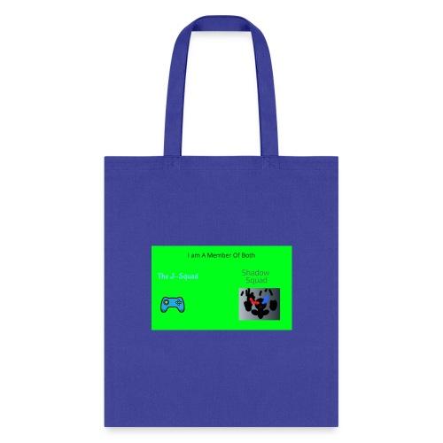 Shadow and J_Squad Shirt - Tote Bag