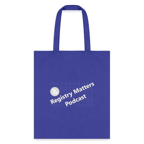 Registry Matters Podcast - Tote Bag