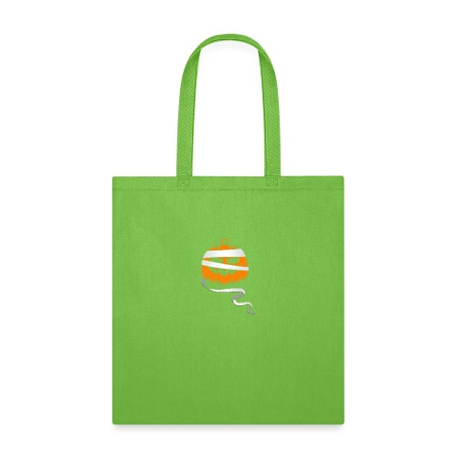 Halloween Bandaged Pumpkin - Tote Bag