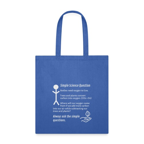 Ask Simple Questions - Tote Bag