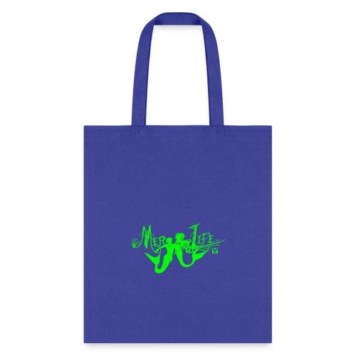 MerLife-Merfolk-4x9-Green - Tote Bag