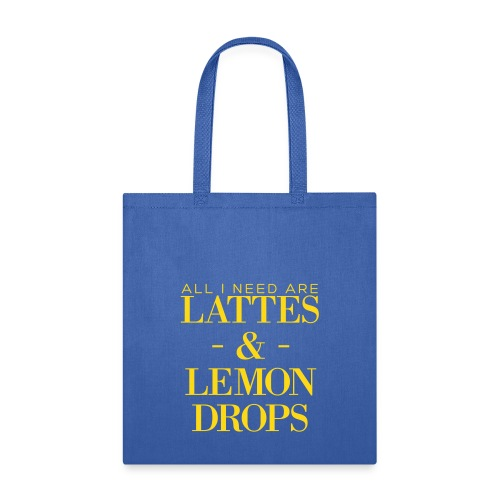 lattes lemon drops - Tote Bag