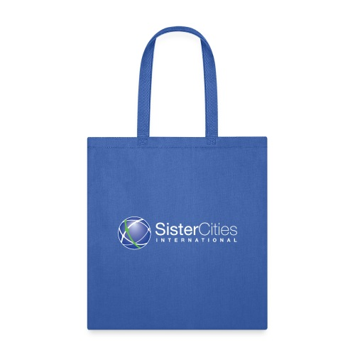 sci logo white top png - Tote Bag