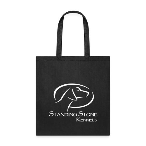 Standing Stone Kennels White Logo - Tote Bag