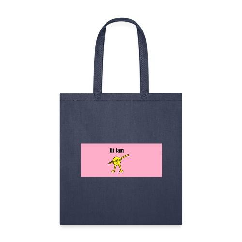 lit fam dab - Tote Bag