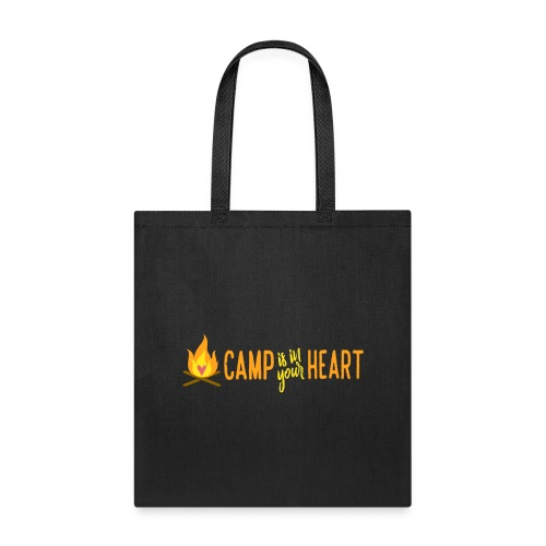 camp is in your heart full color - Tote Bag