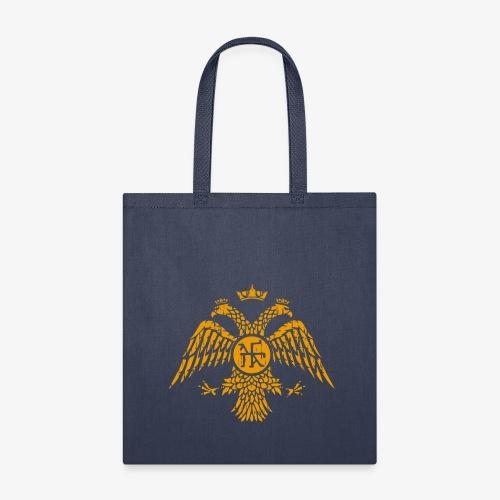 Byzantine Eagle Symbol Flag - Tote Bag