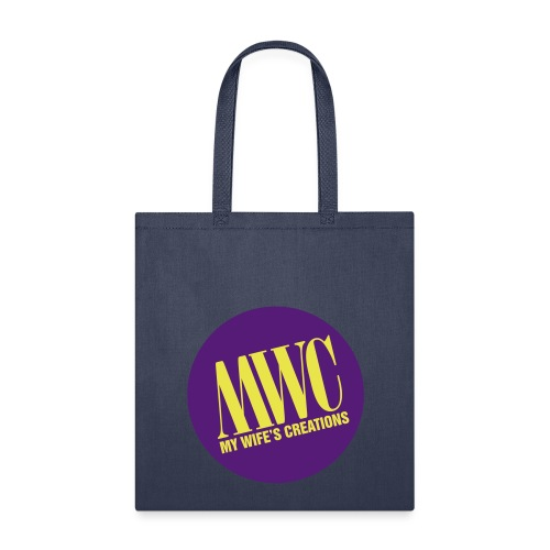 My Wife's Creations actual logo - Tote Bag