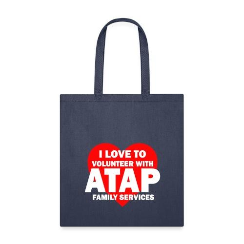 I LOVE TO VOLUNTEER - Tote Bag