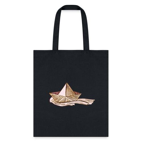 Hand drawn boatT-sherts - Tote Bag
