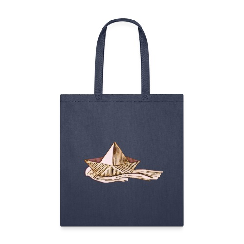 Hand drawn boatT-sherts - Tote Bag
