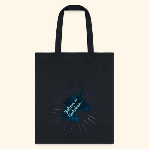 Believe in Blockchain Unicorn - Tote Bag