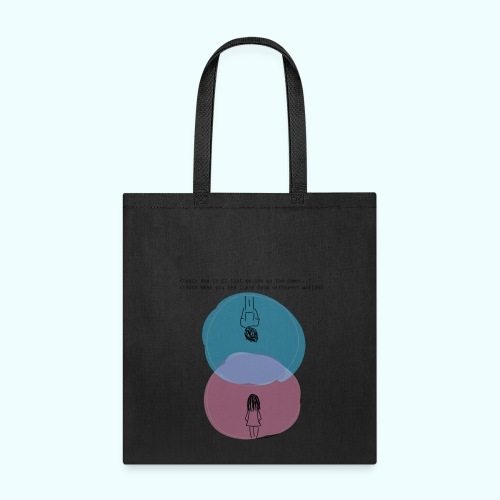 Different Worlds - Tote Bag