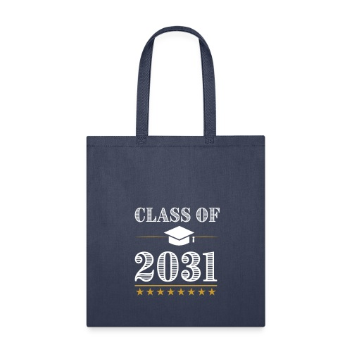 Class of 2031 T-Shirt Grow With Me - Tote Bag