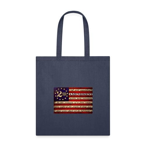 Second amendment flag - Tote Bag