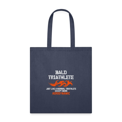 Bald Triathlete - Tote Bag