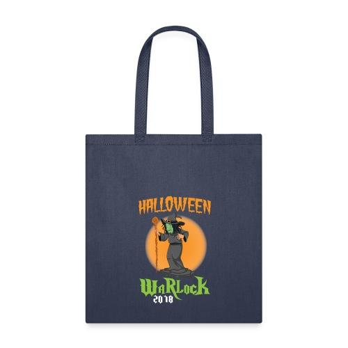 2018 Halloween Warlock Design - Tote Bag