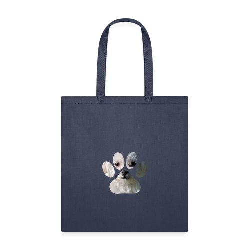 morkie paw t-shirt - Tote Bag