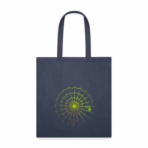 Halloween spider net - Tote Bag