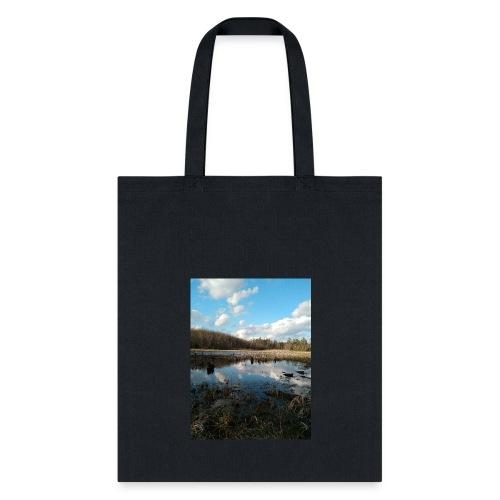 Vernor Road landscape - Tote Bag