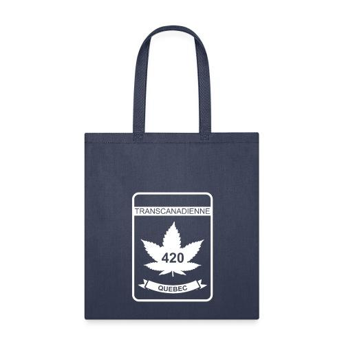 QUEBEC 420 Transcanadienne - Tote Bag