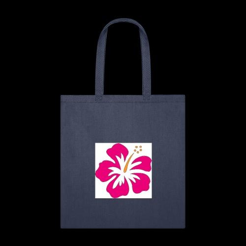 pink hibiscus hoodie - Tote Bag