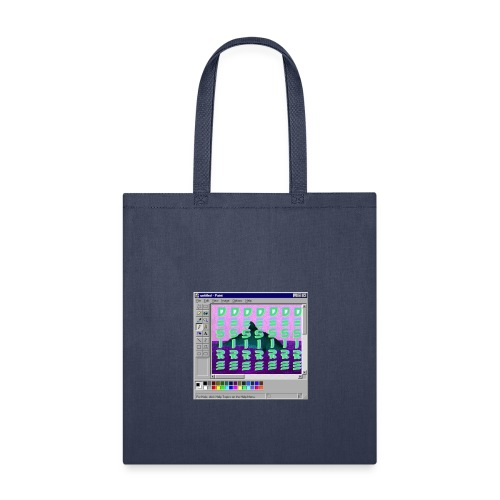 Desire windows xp paint whale edition - Tote Bag
