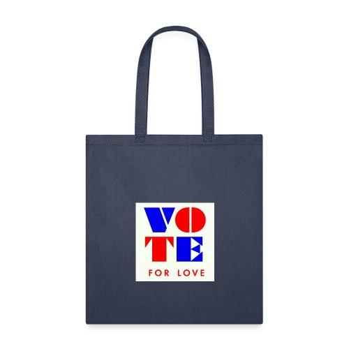 vote4love-sample - Tote Bag