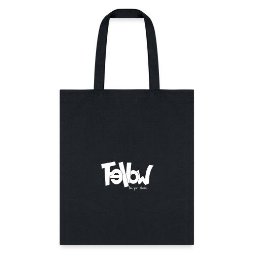 Design 02 Sur du noir - Tote Bag