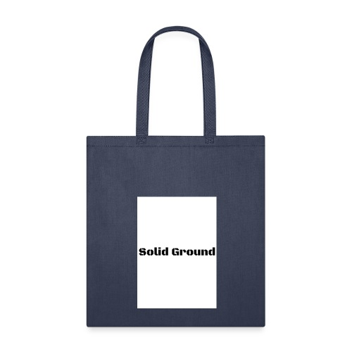Solid Ground Print - Tote Bag