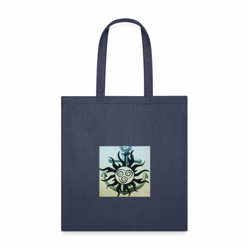 Sun and anchor - Tote Bag