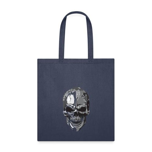 Silver Skull - Tote Bag