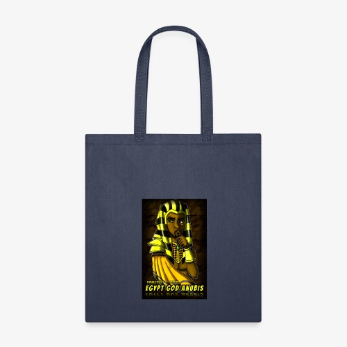 Egypt God Anubis Logo - Tote Bag