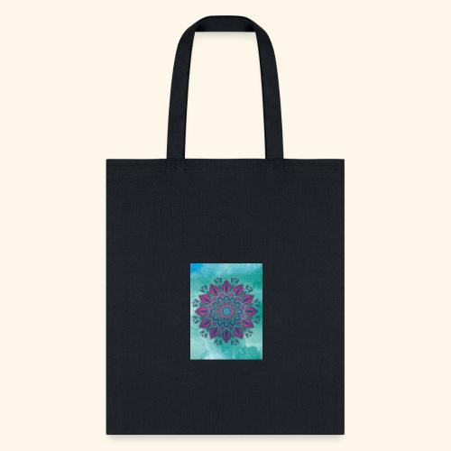 Vinatge Mandala Watercolor - Tote Bag