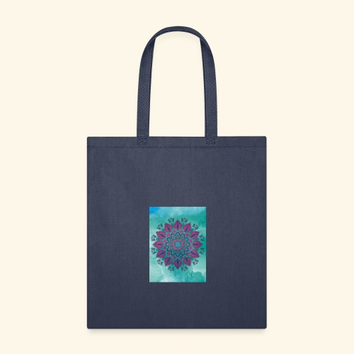 Vinatge Mandala Watercolor - Tote Bag