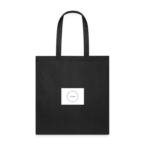 Blue Ring Volleyball (Katie) design logo - Tote Bag