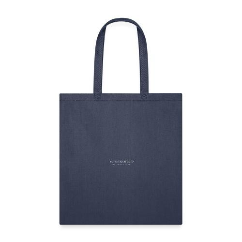 Scientia Studio (white logo) - Tote Bag