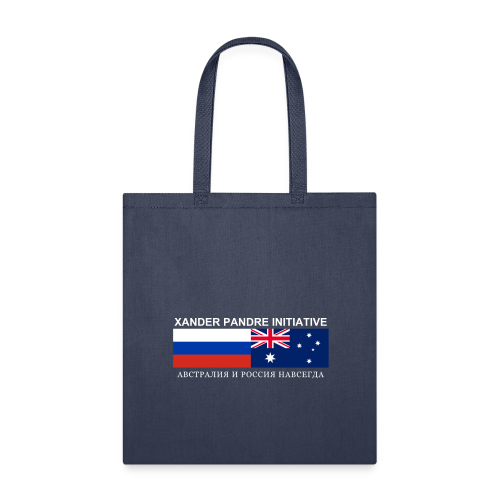 Xander Pandre Initiative АВСТРАЛИЯ И РОССИЯ НАВСЕГ - Tote Bag