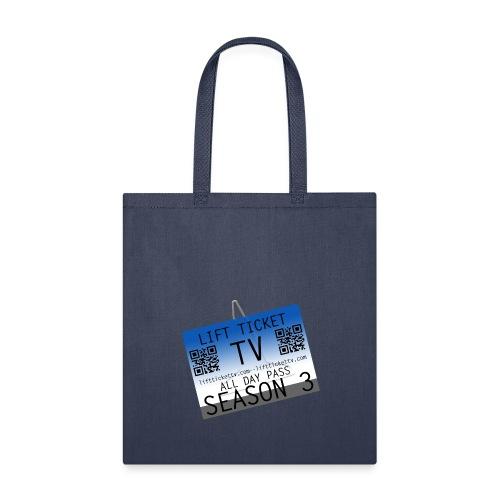 Lift Ticket TV Season 3 - Tote Bag