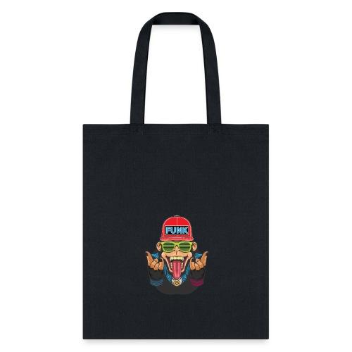 Funky monkey T_Shirt - Tote Bag