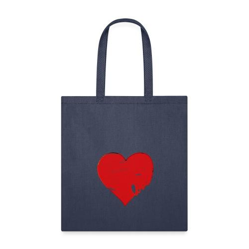 Valentine Heart, Love Heart - Tote Bag