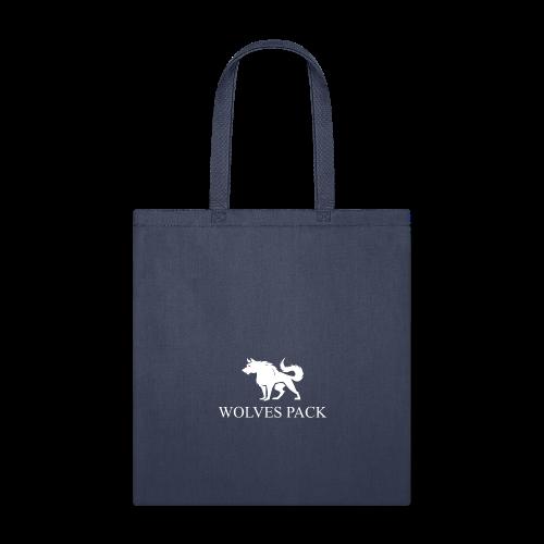 LOGO WOLF 1 white - Tote Bag