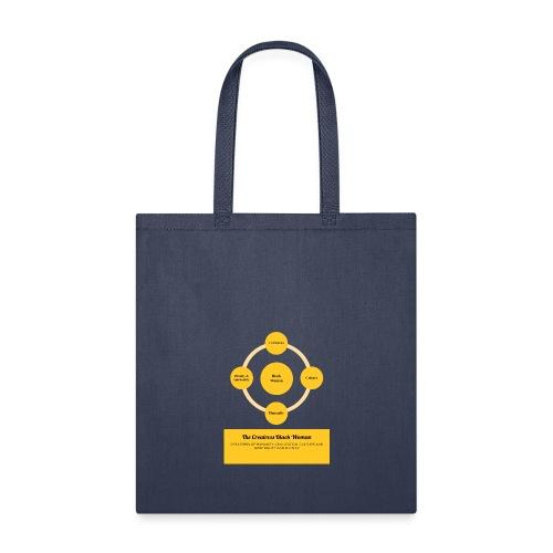 The Creatress Black Woman 1.0 - Tote Bag