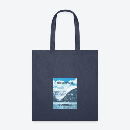 Disconnect Reconnect - Tote Bag