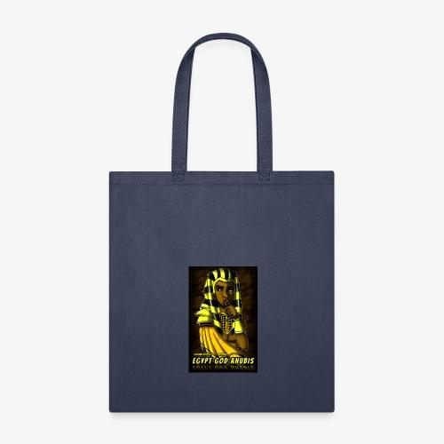 Egypt God Anubis Logo - Tote Bag